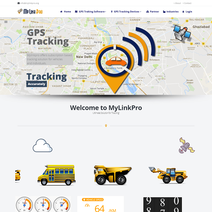 GPS Tracking Website